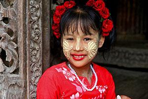 La sonrisa birmana