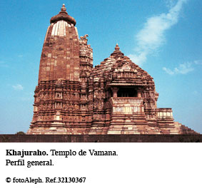 Templos eróticos de khajuraho india